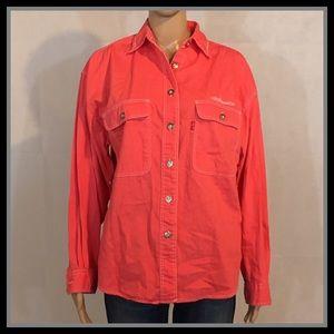 Vintage Levi's Coral Denim Jacket